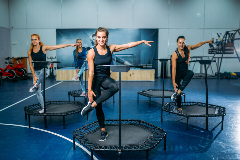 Can trampoline helps to lose weight