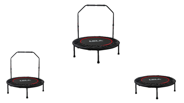 LBLA 38″ Mini Indoor Trampoline for Workout