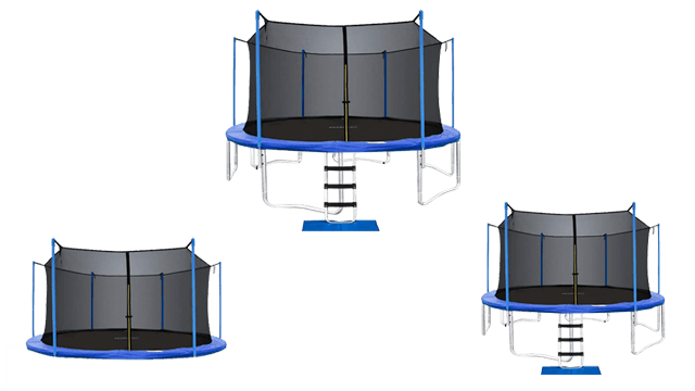 ORCC Trampoline 15 14 12 FT