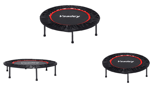 Vsadey Foldable Mini Trampoline