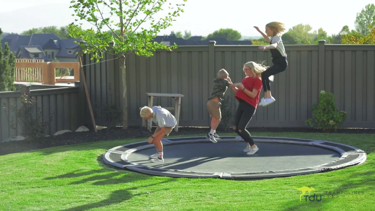 best inground trampoline